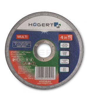 Диск 125 мм, для керамической плитки/бетона/стали/ПВХ