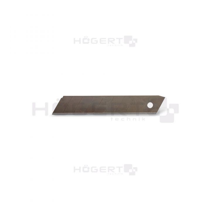 Отламываемые лезвия 18 мм, сталь SK5, 10 шт.