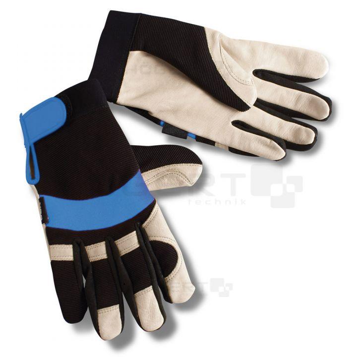 """Рабочие рукавицы 10"""",  с застежкой"""