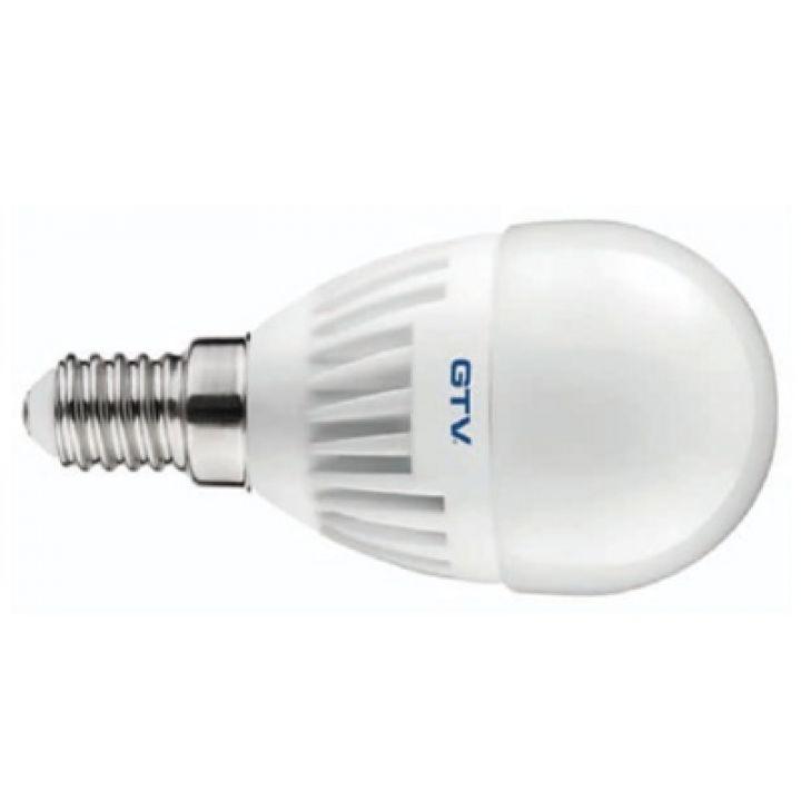 Cветодиодная лампа LED G45, 3000K, E14, 8W, 160*, 640 lm