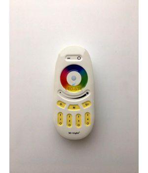 Четырехзонный RGB контроллер для LED ленты с сенсорным пультом, 12~24В 10A, 2,4GHz