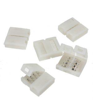 Коннектор 4 контакта, для RGB LED ленты 10 мм