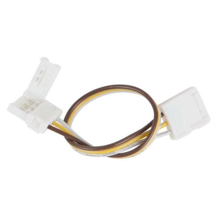 Коннектор 3 контакта, провод 15 см, для двухцветной LED ленты 10 мм