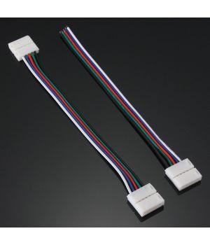 Коннектор 5 контактов, провод 15 см, для RGBW LED ленты 12 мм
