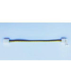Коннектор двухсторонний 3 контакта, провод 15 см, для двухцветной LED ленты 10 мм