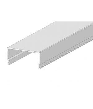Расеиватель матовый прямоугольный  2м для профиля ЛСС
