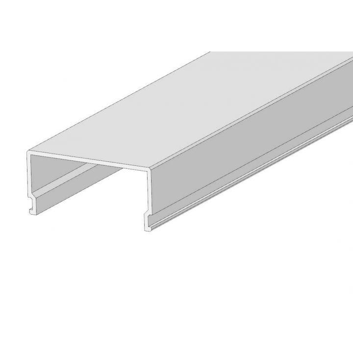 LED рассеиватель прямоугольный 2м. Матовый РСП