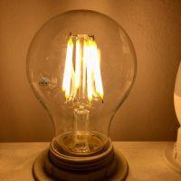 Лампа светодиодная LEDPCLA60D 6.5W840 230VGLFR E27 дим,