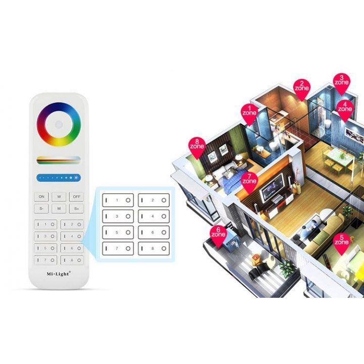 8-Zone RGB+CCT Remote Controller