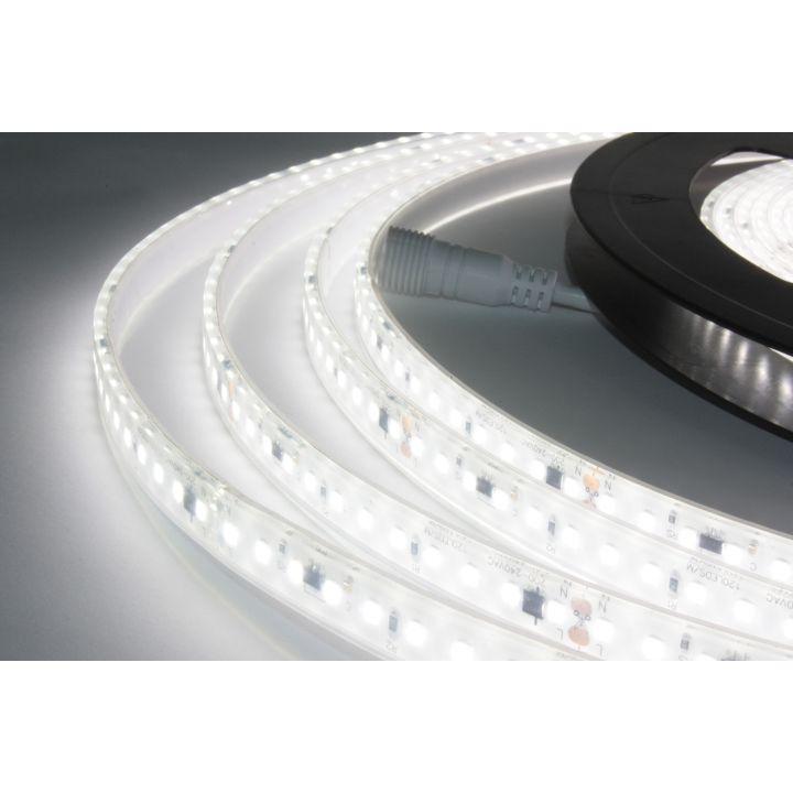 Светодиодная лента премиум, 220-240В, монохромный свет, 2835, 140 шт./м, 17Вт/м, 1400 Lm