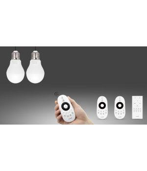 LED лампа 6Вт,Е27,2700-4200K.RF2.4 GHz