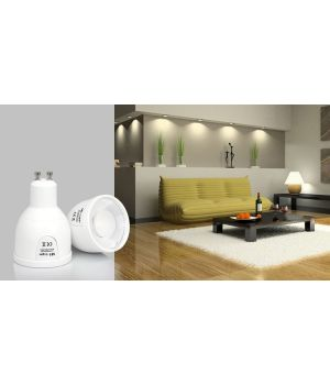 LED лампа 5Вт,GU10.2700-6500K.RF2.4 GHz дистанционное управление