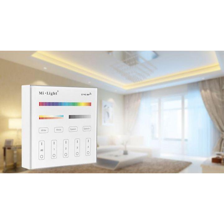 4-х зонная Touch панель диммер Dual White\RGB\RGBW\CCT