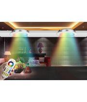 Потолочный светильник, 12Вт, 110-220В, RGB+2700-4200K, RF2.4 GHz