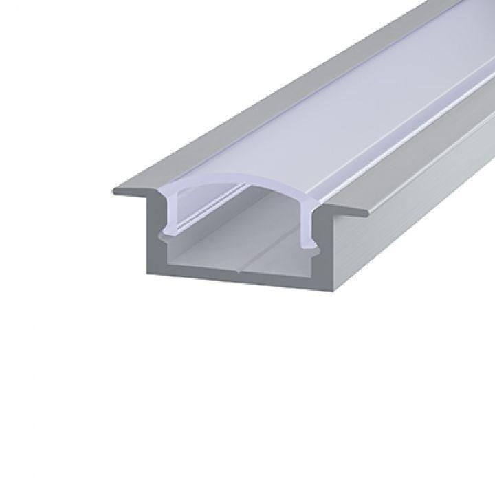 Алюминиевый профиль врезной 7*16мм, Эко