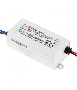 Блок питания MW APV-16-12, IP67
