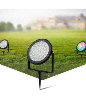 LED газонный прожектор 15W IP65 RGB+CCT
