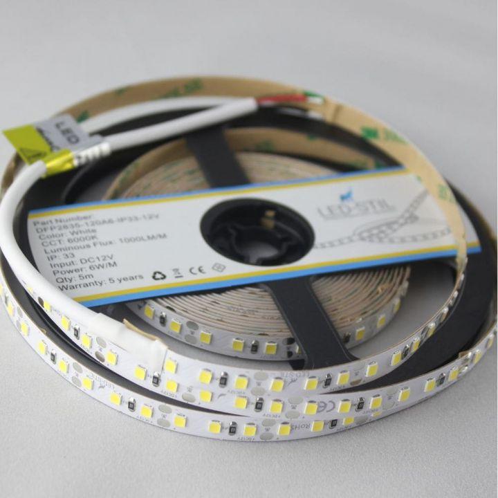 LED лента LED-STIL 6000K, 6 w, 2835, 120 шт., IP33, 12V,1000lm.