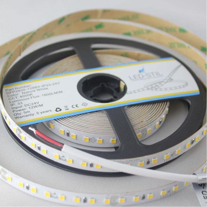 LED лента LED-STIL 4000K, 12 w,2835, 128 шт., IP33, 24V,1800lm.