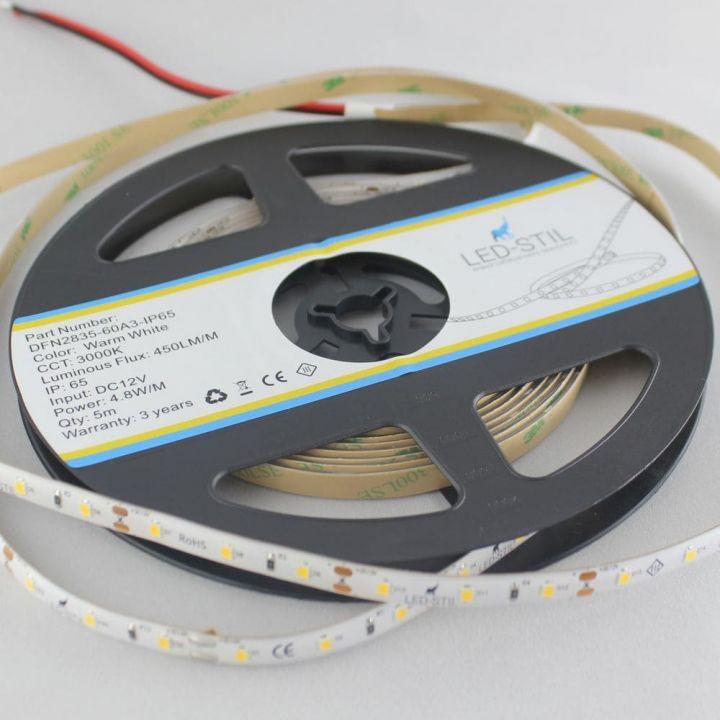 LED лента LED-STIL 3000K, 4,8 w, 2835, 60 шт., IP65, 12V,
