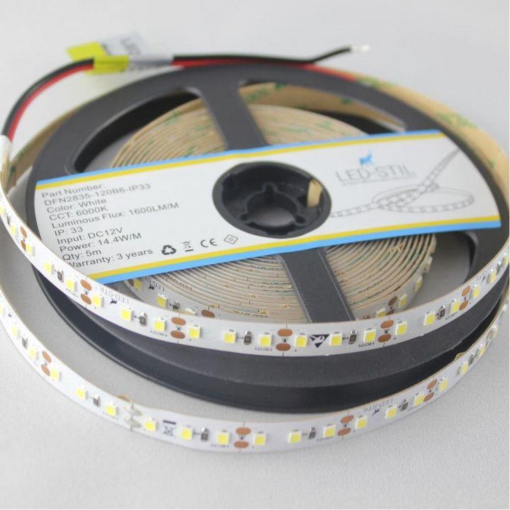 LED лента LED-STIL 6000K, 14,4 w, 2835, 120 шт., IP33, 24V