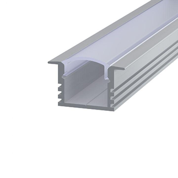 Алюминиевий профиль врезной 12*16мм, Эко 2м.