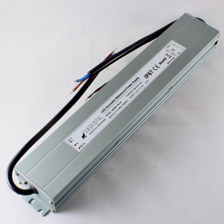 Блок питания Dim IP67, 24V, 150W, Triac+0/1-10V