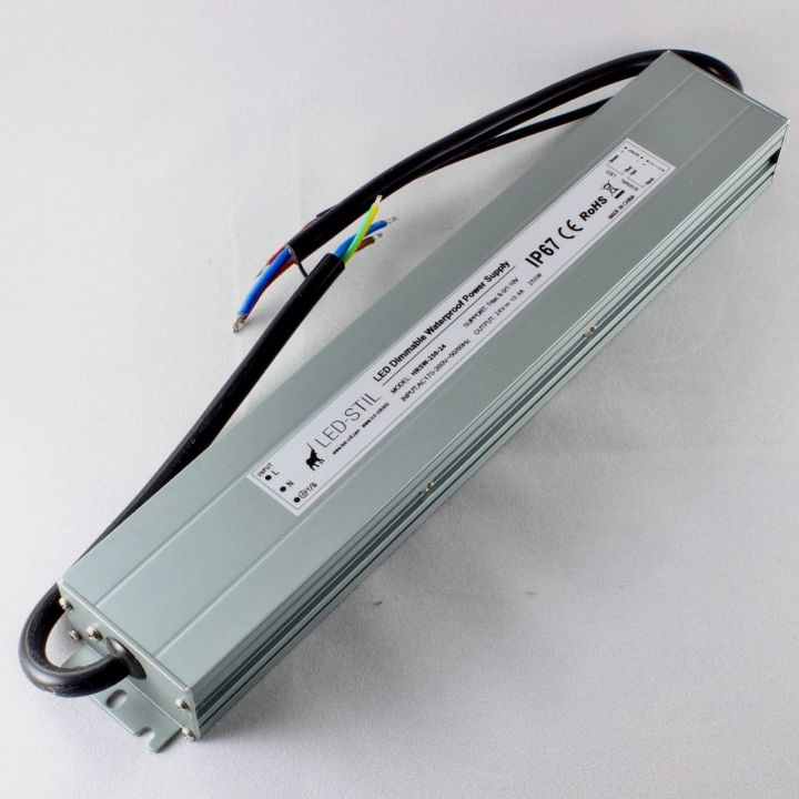 Блок питаня Dim IP67 24V 250WTriac+0/1-10V