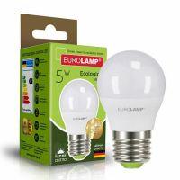 "EUROLAMP LED Лампа ECO серія ""P"" G45 5W E27 3000K (100)"
