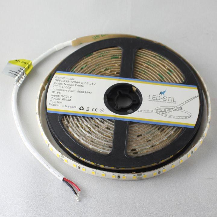 LED лента LED-STIL 4000K, 6 w, 2835, 128 шт., IP65, 24V