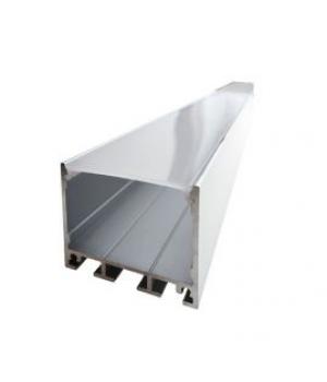 Комплект алюминиевый профиль+матовый рассеиватель 35мм*35мм