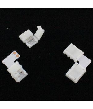Конектор угловой двусторонний для PCB 8 mm