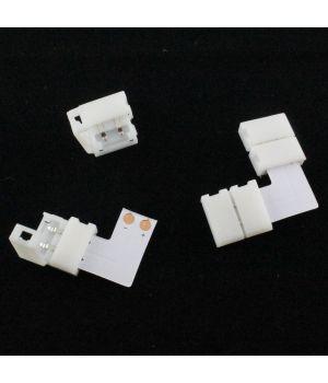Конектор угловой двусторонний для PCB 10 mm