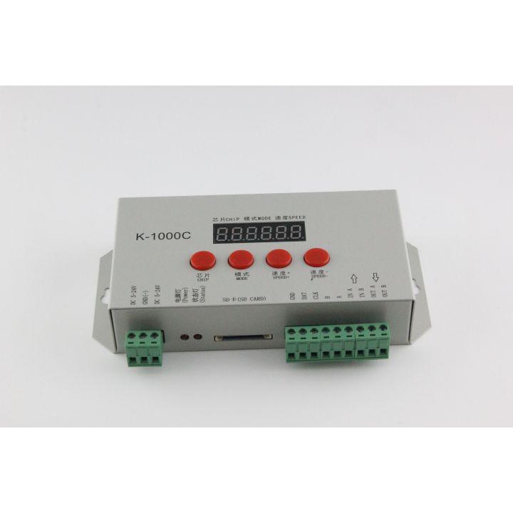Контроллер SPI/DMX512 с пультом управления K-1000C, DC5-24V