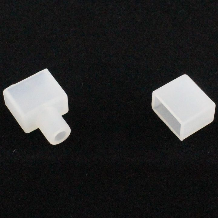 Силиконовый колпачек для светодиодной ленты IP 68 шириной 12 мм
