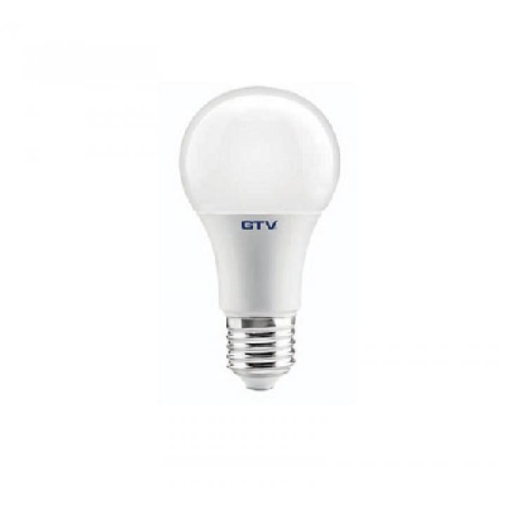 Cветодиодная лампа LED A60, SMD 2835, 4000K, E27, 10W, AC220-240 V, 220*, 840 lm