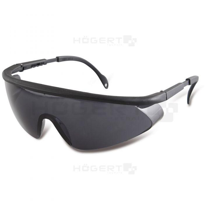 Защитные очки, стекла PC, с регуляцией, затемненные
