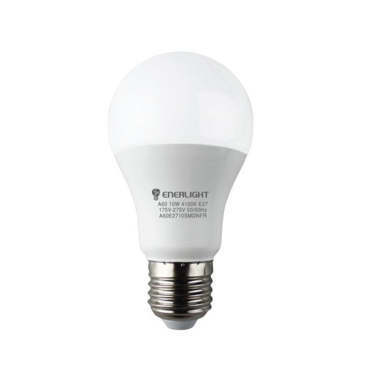 Cветодиодная лампа LED ENERLIGHT A60 10Вт 4100K E27