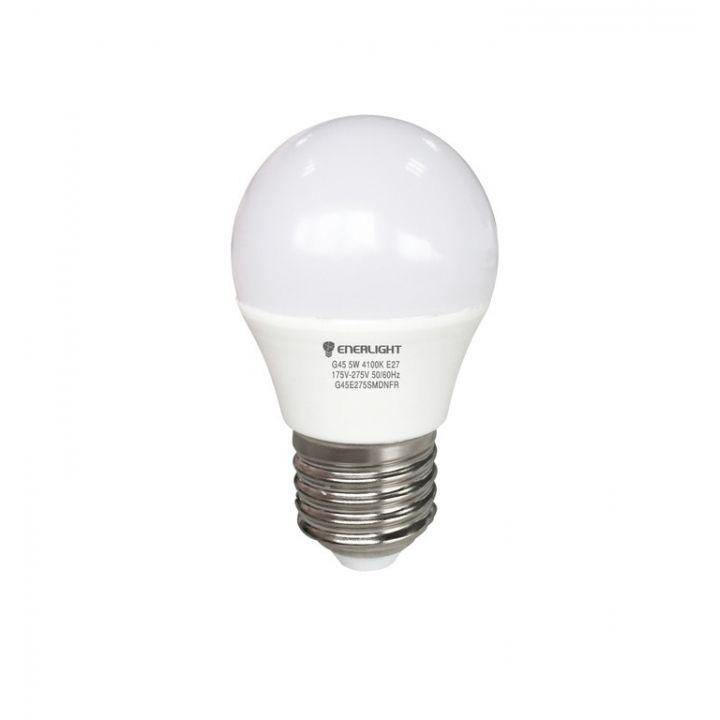 Cветодиодная лампа LED ENERLIGHT G45 5Вт 3000K E27
