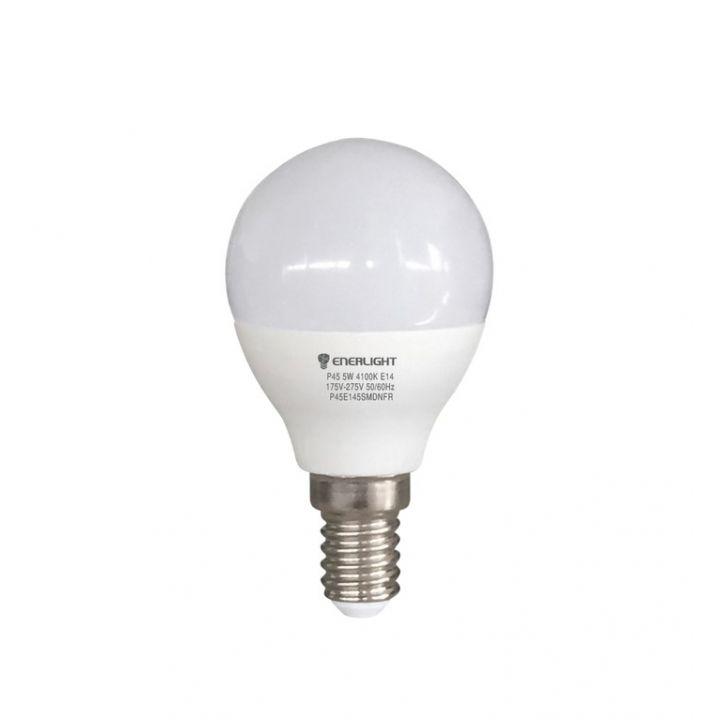 Cветодиодная лампа LED ENERLIGHT P45 5Вт 3000K E14