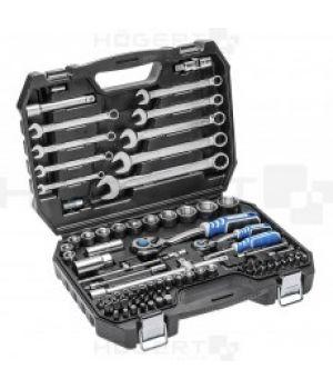 Набор инструментов 85 шт. сталь CrV