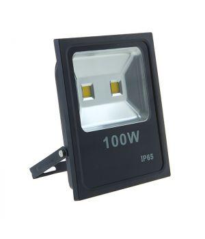 Светодиодный прожектор INNOVO, 100W, AC220-240V, IP65, 6400 lm, 483 mA, 6400K, черный, SLIM