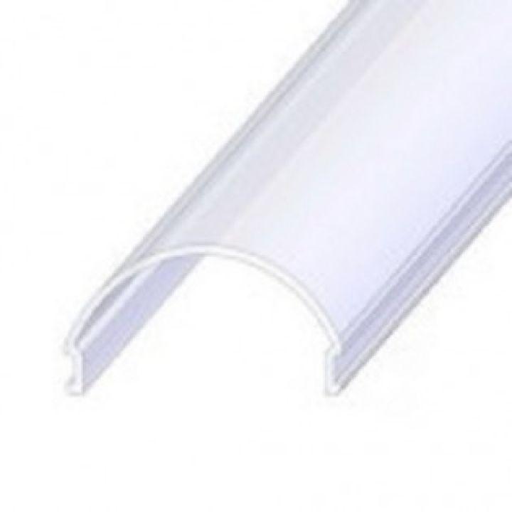 LED рассеиватель радиальний матовый, 2м (для профиля ЛСС)