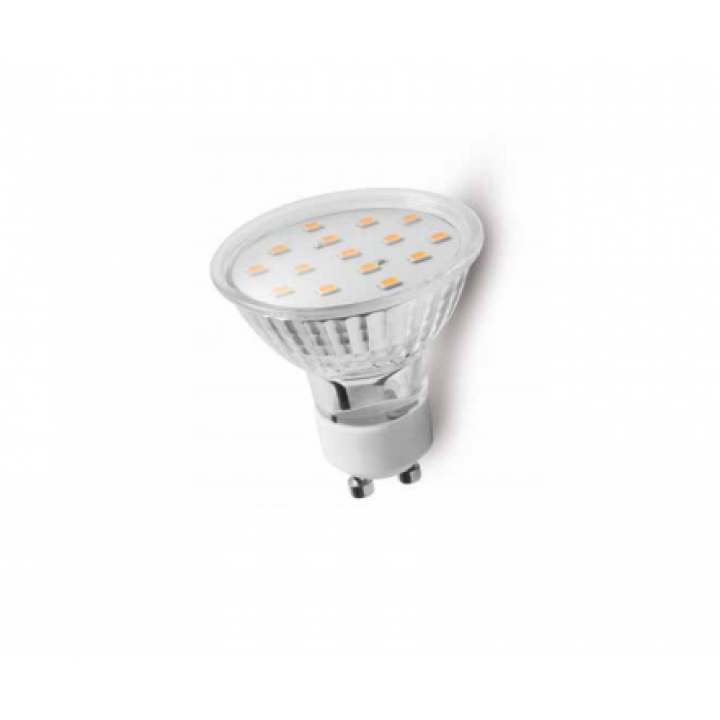 Cветодиодная лампа LED GU10, 4W, 6400K, 15 SMD 2835, 340 Lm, AC220-240V, 120